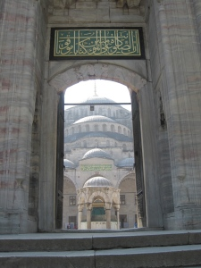Blue Mosque Entry Way