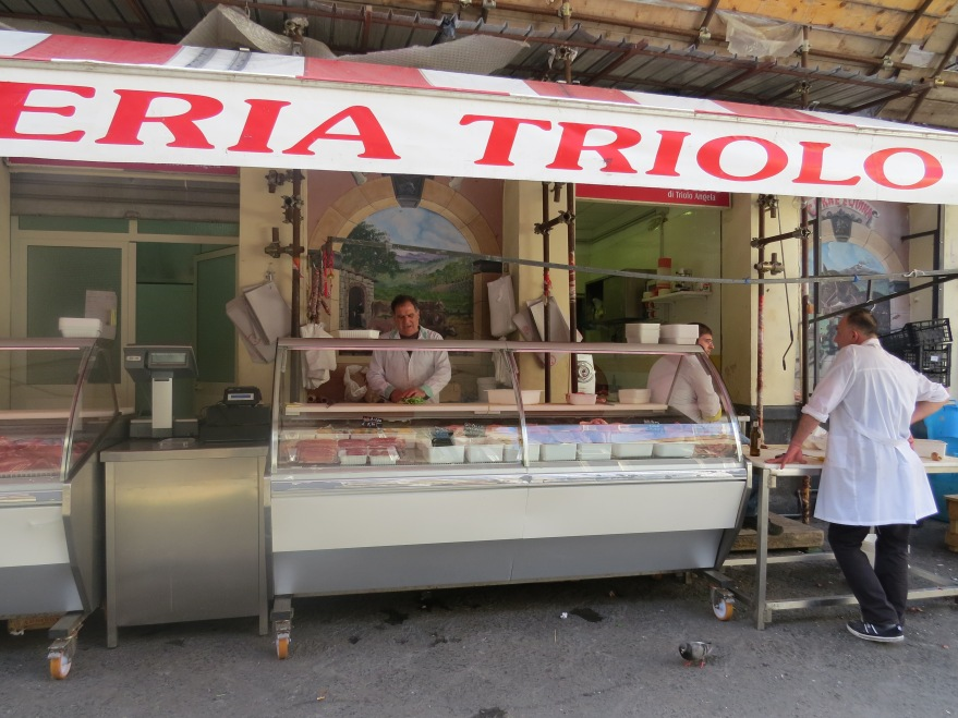 """While cleaning the last few fish, he sang in a lovely voice.  I was hustled away before I could as for """"That's Amore."""""""