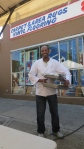 The Chef of Lucy's Ethiopian, at Taste of Diversity on Grant St.