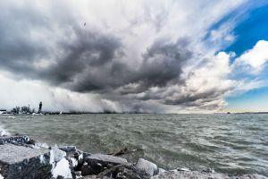 Lake Effect Snow, courtesy of Imgur (http://imgur.com/a/VDmZx#hOjH1yU)